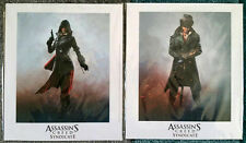 Assassins Creed Syndicate Evie & JACOB Frye LIMITATA PER COLLEZIONISTI Lithograph stampa