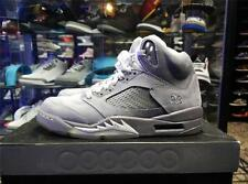 Nike Air Jordan 5 Wolf Grey 2010 DS QS OG Pinacle infrarouge peur RARE V kaws UK7