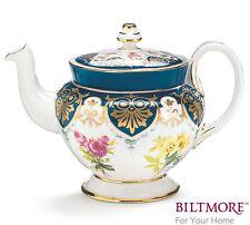 "burton+Burton Porcelain 6 Cup Teapot Tea Pot 6.2"" VANDERBILT"