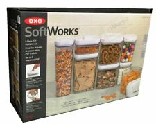 8 Piece OXO SoftWorks POP Container Set Airtight Food Storage Containers New