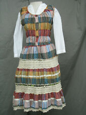Victorian Dress Edwardian Civil War Old West Western Prairie Style