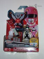 Power Rangers Super Megaforce Legendary Key Pack GALAXY Red Magna Pink New 2016