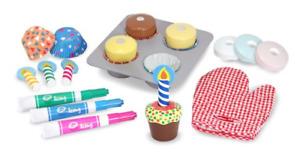 Melissa & Doug MD4019 Bake & Decorate Cupcake Set