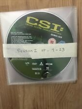 CSI LAS VEGAS COMPLETE SERIES 2 DVD Season Two UK Region 2 Discs Only Second