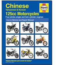 Chinese 125cc Motorcycle Haynes Workshop Service Repair Manual 4871