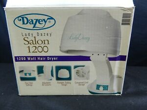 DAZEY LADY DAZEY SALON 1200 HAIR DRYER PORTABLE ELECTRIC 1200 WATTS