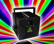 2000mW RGB ILDA stage Full Color 2W Laser Disco DJ light projector with SD Card