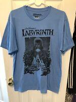 Jim Henson's Labyrinth David Bowie Shirt Size Large Ripple Junction