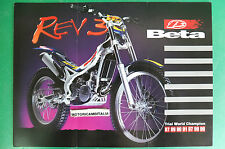 BETA REV 3 TRIAL WORLD CHAMPION OPUSCOLO DEPLIANT BROCHURE RECLAME PROSPEKT