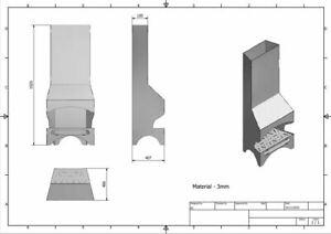 FIRE PIT - BBQ - GARDEN FIREPLACE - DXF Files for CNC Laser, Plasma, Waterjet