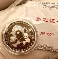 Händler Panda Silber 2018 World Money Fair Berlin WMF Künker SPECIAL NUMBER 500