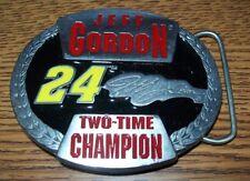 JEFF GORDON #24 TWO TIME CHAMPION BELT BUCKLE BRAND NEW!!!!!