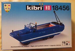 Kibri Bausatz 18456 H0 1/87 THW Amphiebiebienfahrzeug GMC, DUKW-353