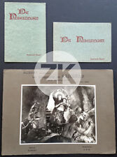 DIE NIBELUNGEN Fritz LANG Siegfried Kriemhild Wagner 2 Prog + 1 Photo 1924