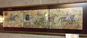 Spaniards & Navajo - Original Pastel Painting by Cecilia Henle