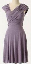 Anthropologie Vintage Plenty Tracy Reese Purple Jersey Dreamy Drape Dress XS 0 2