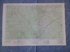New ListingUsgs Topography Map Quadrangle Raleigh, North Carolina 1953 Rev 1969 1:250,000