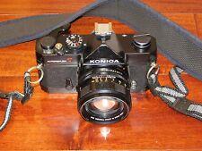 Konica Autoreflex T 35mm SLR Camera with Hexanon AR 57mm F1.4 Lens
