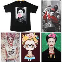 Frida Kahlo T Shirt Mexico Mexican Women Men Cute Artist Fashion Graphic Tee