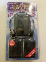 1996 NIP LENOXX AM/FM Radio Cassette Player w/ Speakers 9190 NEW VINTAGE RARE