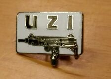 UZI Submachine Gun Weapon Automatic Lapel Hat Pin