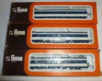 Lima Japanese Tokaido Shin Kansen Series - 3 car set - 1010L , 1011 , 1013