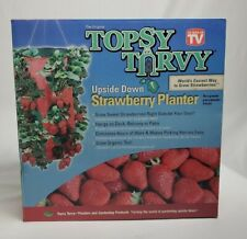 Topsy Turvy Upside Down Strawberry Planter. Grow up to 15 Quarts! New in Box