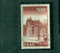 Saarland, Ludwigskirche Nr. 337 gestempelt