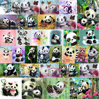 5D DIY Diamond Painting Bamboo Panda Cross Stitch Embroidery Mosaic Home Decor