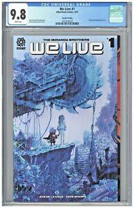 We Live #1 CGC 9.8 4th Fourth Printing Edition Miranda Wraparound Cover