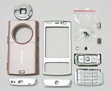 Full pink housing cover fascia facia case faceplate for Nokia N95