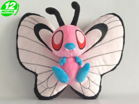 "Pink Shiny Butterfree 12"" 30cm Pokemon Anime Stuffed Plush Toy Soft Poke Doll"