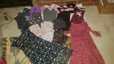 lot is girls clothes size 10/12 fall hoodies, dresses pants