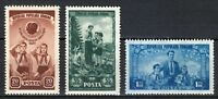 Romania 1952 MNH Mi 1396-1398 Sc 881-883 Romanian Pioneers ** Lenin, Stalin **