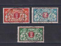 DANZIG GERMANY 1923, Mi#147-149, CV€75,Used