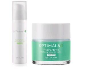 Oriflame Optimals Hydra Matte Balancing Day Fluid & Night Cream for Oily Skin