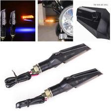 2pcs Universal Motorcycle LED Turn Signal Light Indicator 12V Lamp Amber 12 LED
