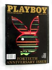 Playboy magazine 40th anniversary edition issue January 1994 near mint magazine