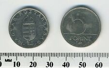 Hungary 1996 - 10 Forint Copper-Nickel Coin - Saint Stephan's Crown