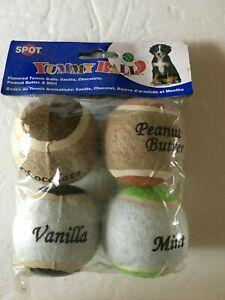 SPOT Yummy Balls 4 Flavored Tennis Balls