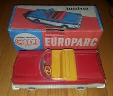 Antique French Toy Car Autoboat Europarc CIJ
