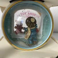 Hallmark Keepsake 1981 Ornament Peek-Thru-Ball Toy Shop Window RARE Christmas
