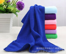 Big Absorbent Microfiber Hair Drying Bath Beach Towel Washcloth Swimwear Shower