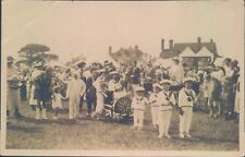More details for postcard social history summer fete 1900's real photo unposted
