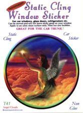 Angel Clouds - Static Cling Window Sticker