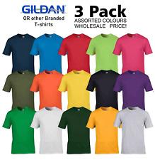 Unisex 3 Pack Gildan o de otras marcas Camiseta Adulto Colores Surtidos al por mayor