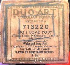 DUO-ART Christine & Goetz DO I LOVE YOU Mering 713220 Player Piano Roll