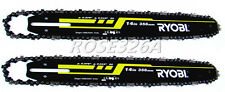 "2PCS Chainsaw Guide Bar & Chain 14"" in for Dolmar Echo Echo Deere Jonsered Ryobi"