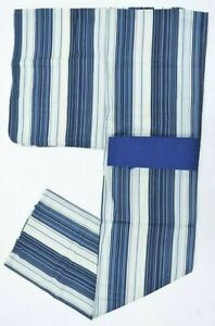 @Japanese Vintage Kimono / yukata+Kakuobi (2set) Mens luxury 6nfuji31947