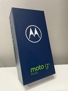Motorola Moto G9 Plus (Dual SIM 4G, 5000mAh, 128GB/6GB) - Navy Blue AUS MODEL